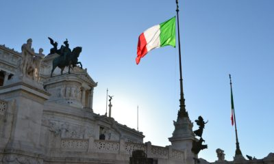This picture shows Italy's flag.