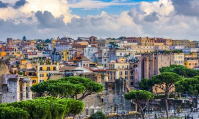 This picture show the city of Rome.