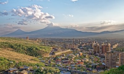 This picture show a city in Armenia.