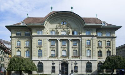 This picture show the Swiss National Bank.