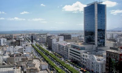 This picture show a city in Tunisia.