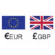 EUR GBP exchange rate