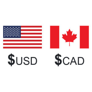 USD CAD exchange rate