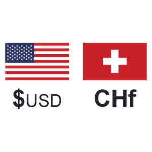USD CHF exchange rate