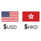 USD HKD exchange rate