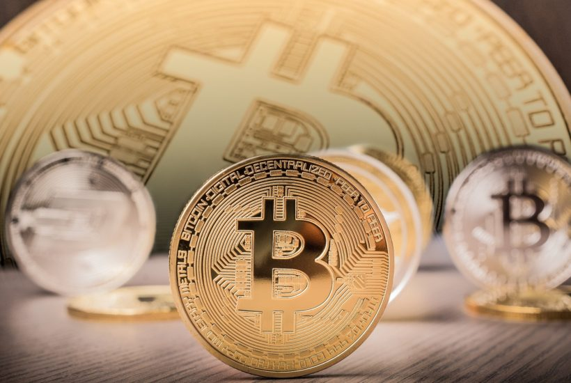 This picture show a bitcoin.