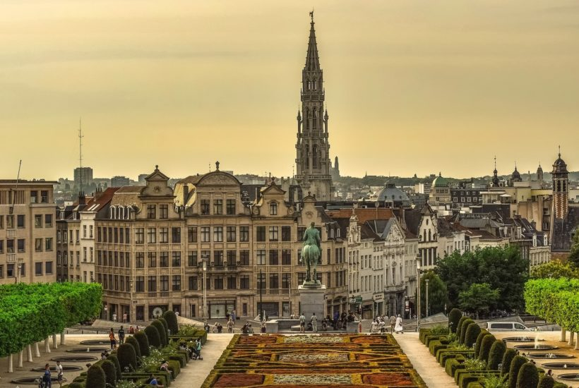 This picture show a city in Belguim.