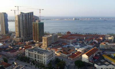 This picture show a city in Angola.