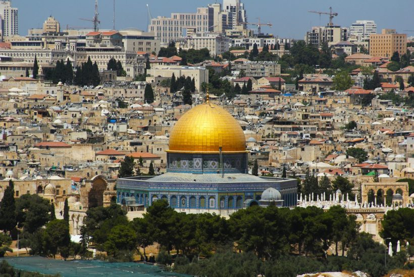 This picture show the city of Jerusalem.