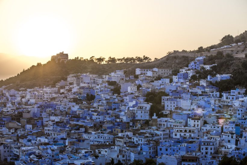 This picture show the city of Morocco.
