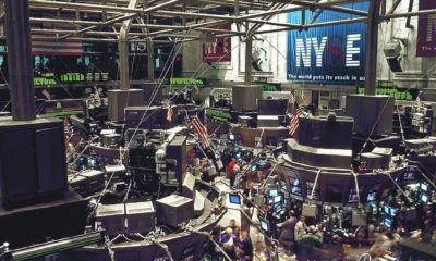 This picture show New York stock exchange.