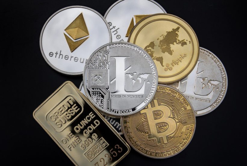 This picture show a couple of cryptocurrencies.