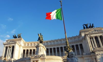 This picture show the Italian flag.