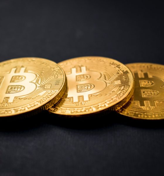 This picture show a couple of bitcoin.
