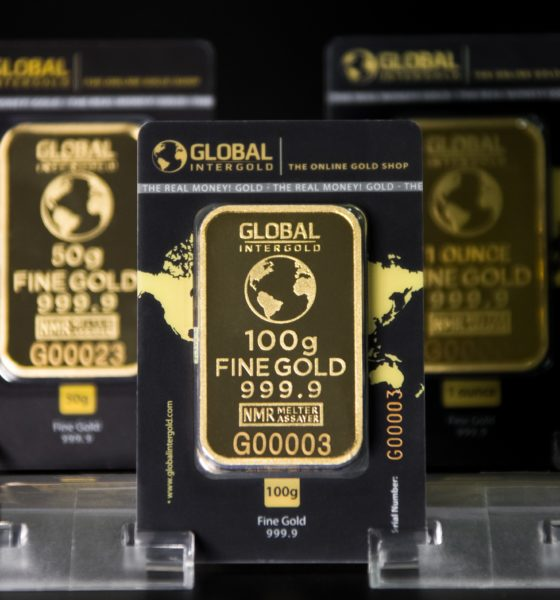 This picture show a couple of gold bars.