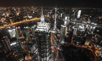 This picture show the city my Shanhai.