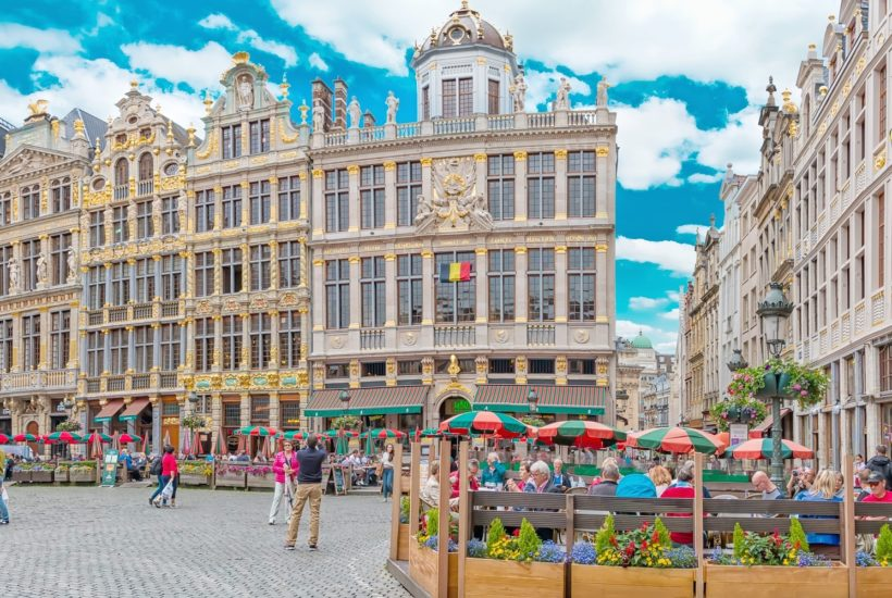 This picture show the city of Brussels.