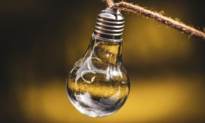 This picture show a lightbulb.