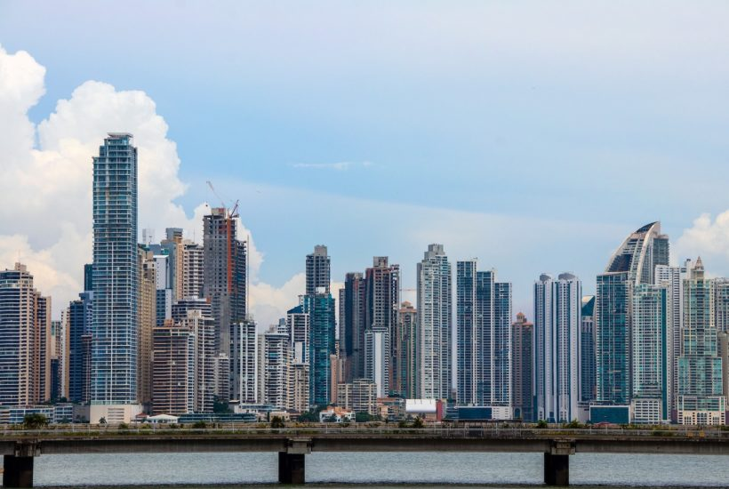 This picture shows Panama city.