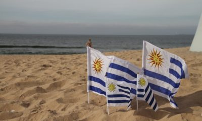 This picture show Uruguay's flag.