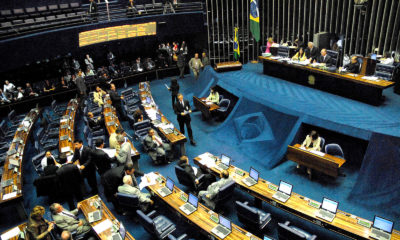 This picture show the Brazilian senate.