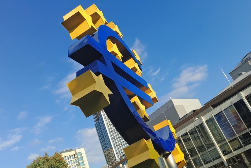 This picture show the Euro sign.