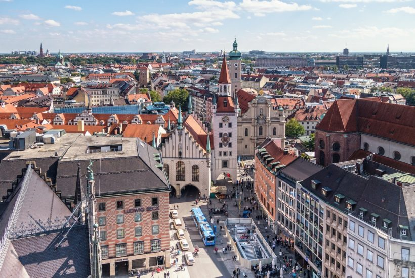 This picture show the city of Munich.