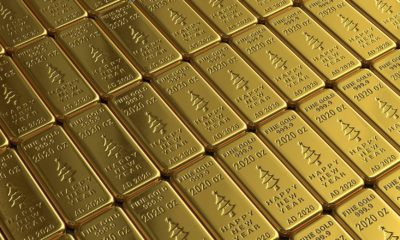 This picture show some gold bars.