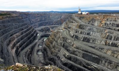 This picture show a mining site.