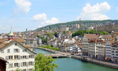 This picture show the city of Zurich.
