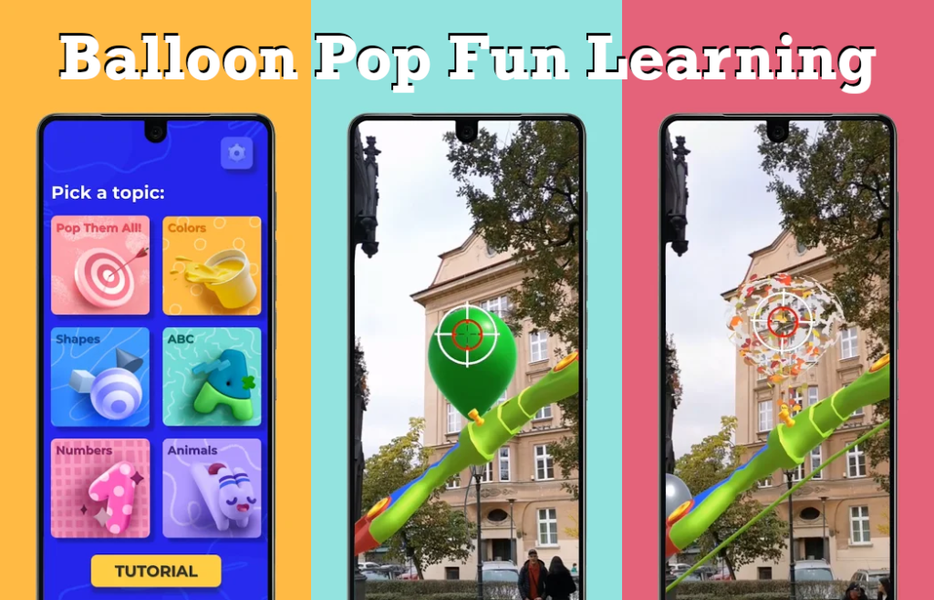 Balloon Pop Fun Learning shows how edutainment should be done